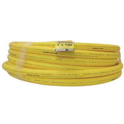 Underground 1 in. x 100 ft. Yellow Polyethylene Gas Pipe