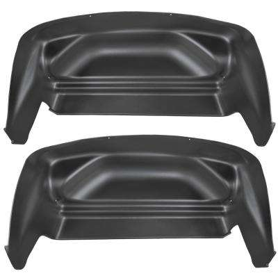 Rear Wheel Well Guards Fits 07-13 Silverado/Sierra 1500