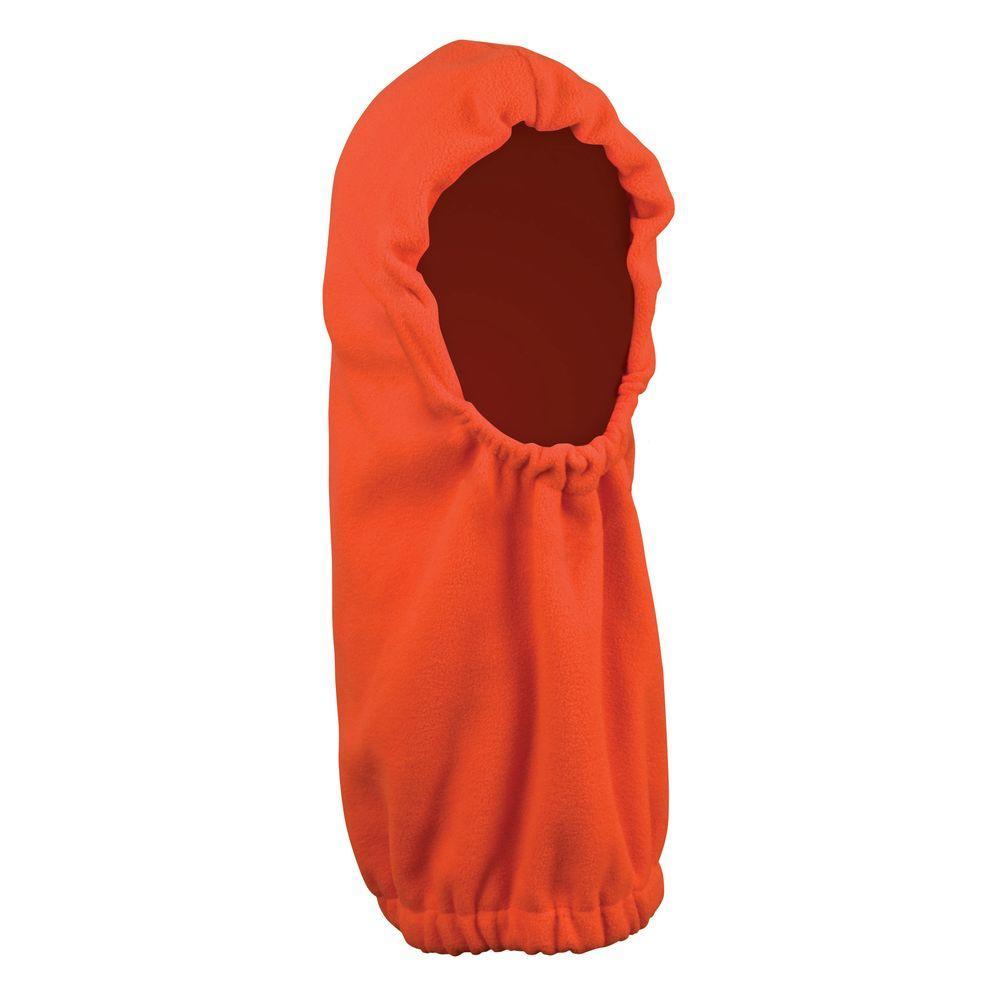Blaze Orange Deluxe Fleece Hoodie