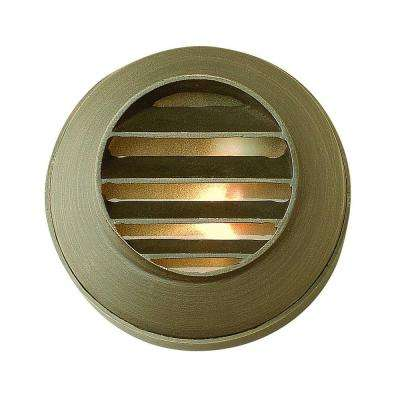 Hardy Island 3.5 in. Matte Bronze Recessed LED Outdoor Deck Light