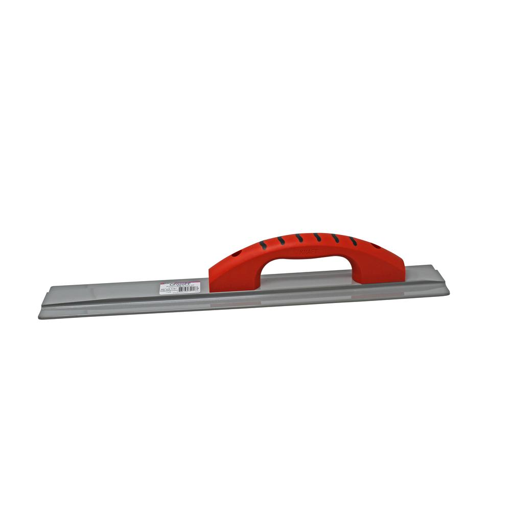 20 in. x 3-1/4 in. Square End Magnesium Hand Float -