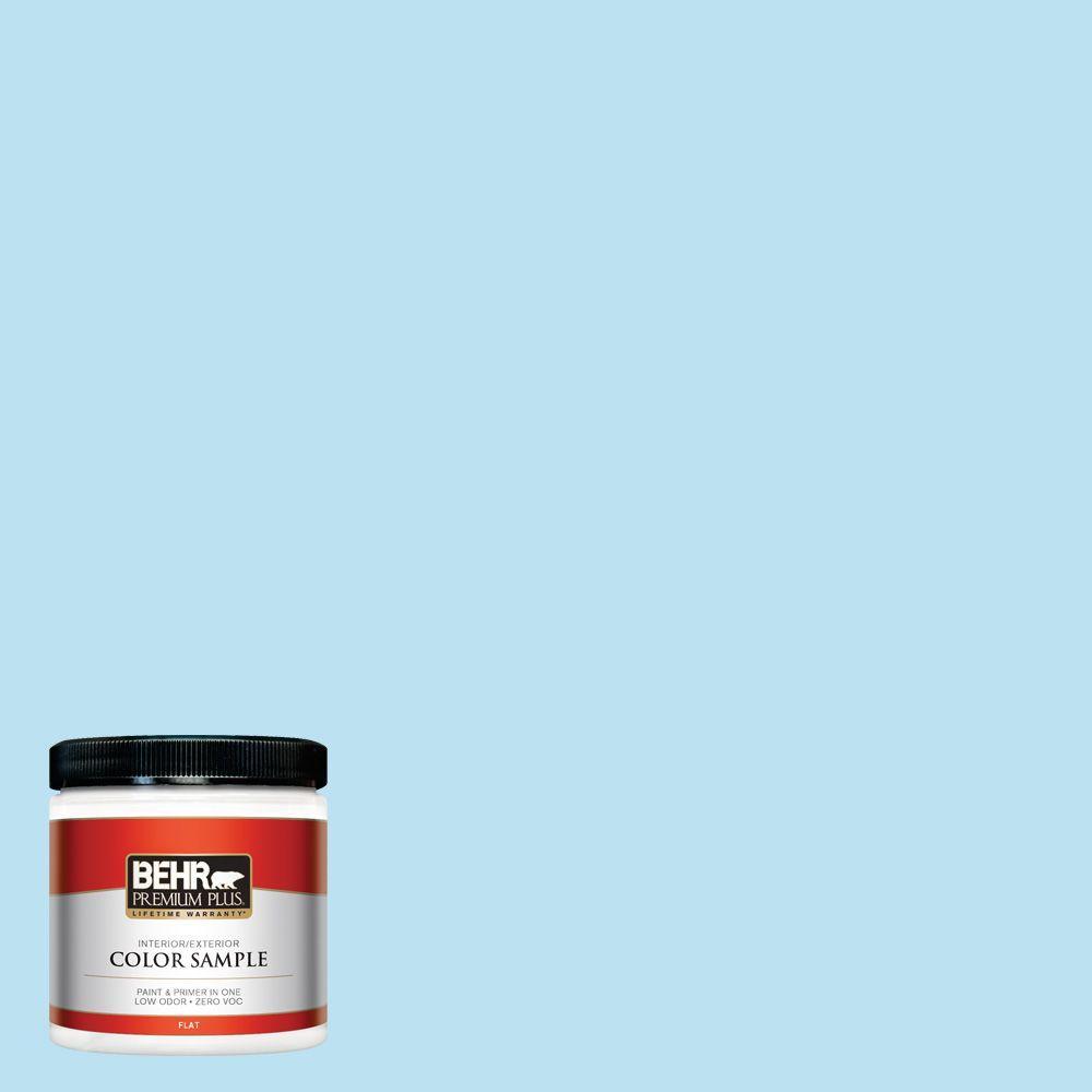BEHR Premium Plus 8 oz. #530A-2 Skylark Interior/Exterior Paint Sample