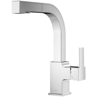 Arkitek Single-Handle Pull-Out Sprayer Kitchen Faucet in Polished Chrome