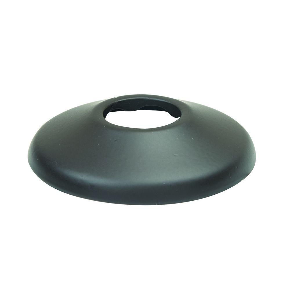 1/2 in. IPS Shallow Escutcheon in Oil Rubbed Bronze