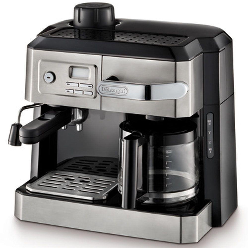 Delonghi 10-Cup Coffee Maker, Stainless
