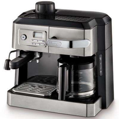 All-In-One Steam Espresso and 10-Cup Drip Coffee Machine