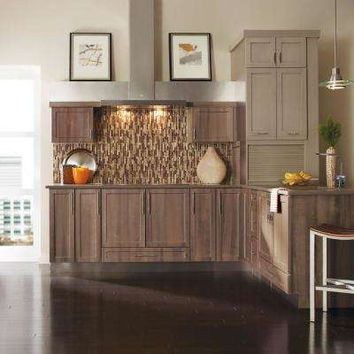 Nouveau Custom Kitchen Cabinets Shown in Industrial Style