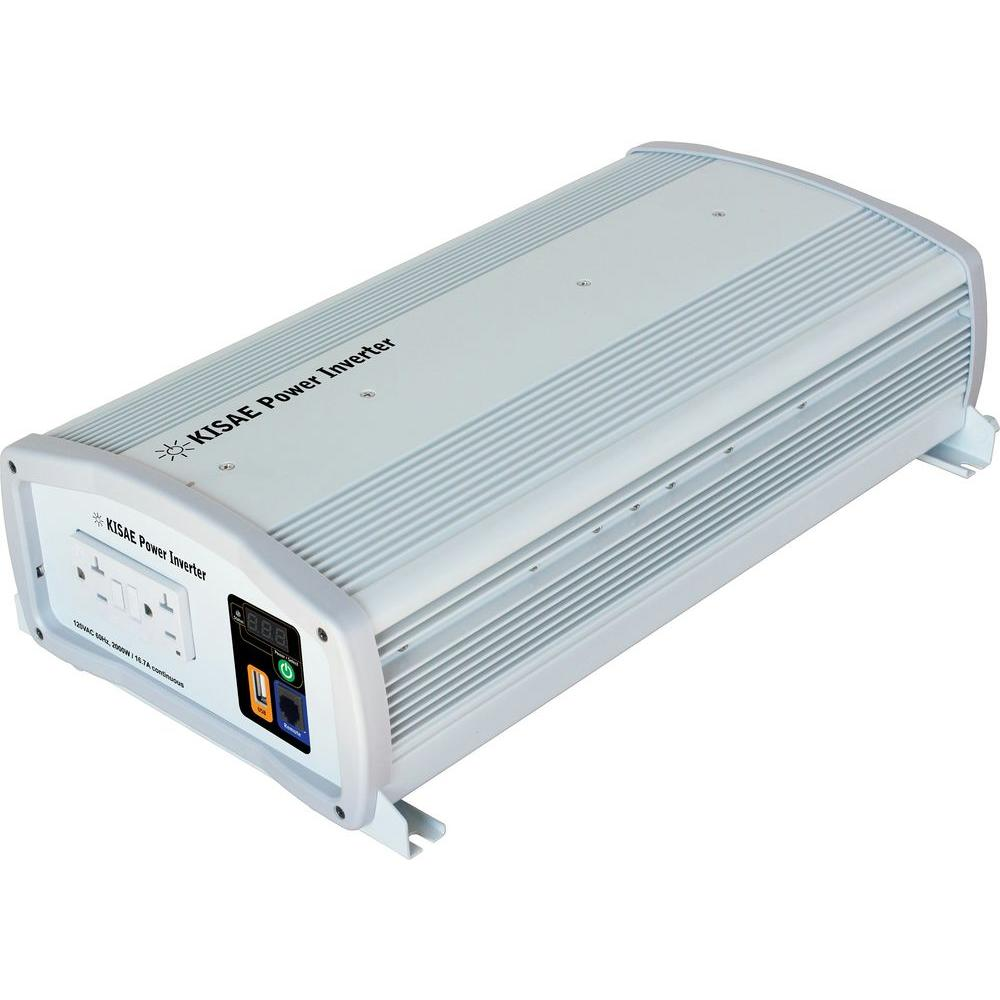 KISAE 2,000-Watt Sine Wave Inverter
