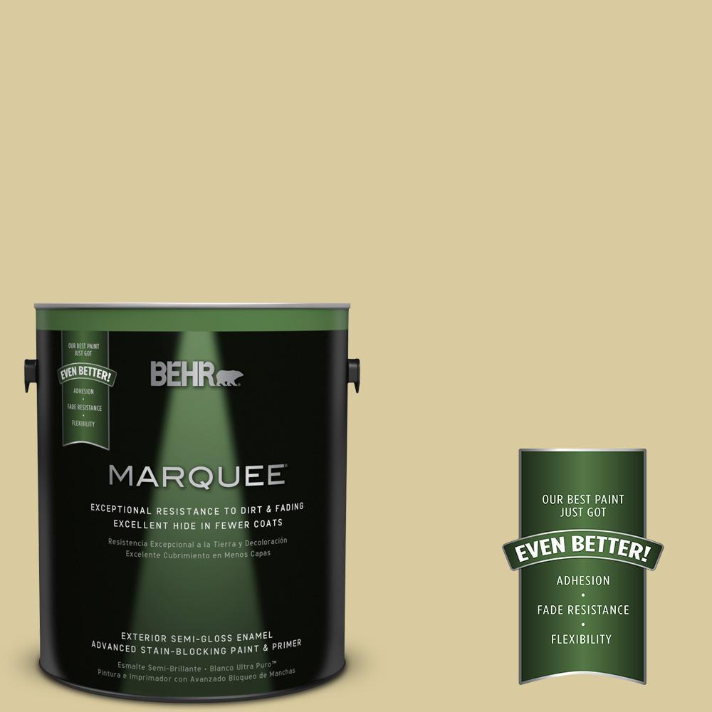 BEHR MARQUEE 1-gal. #PPU8-11 Mojito Semi-Gloss Enamel Exterior Paint