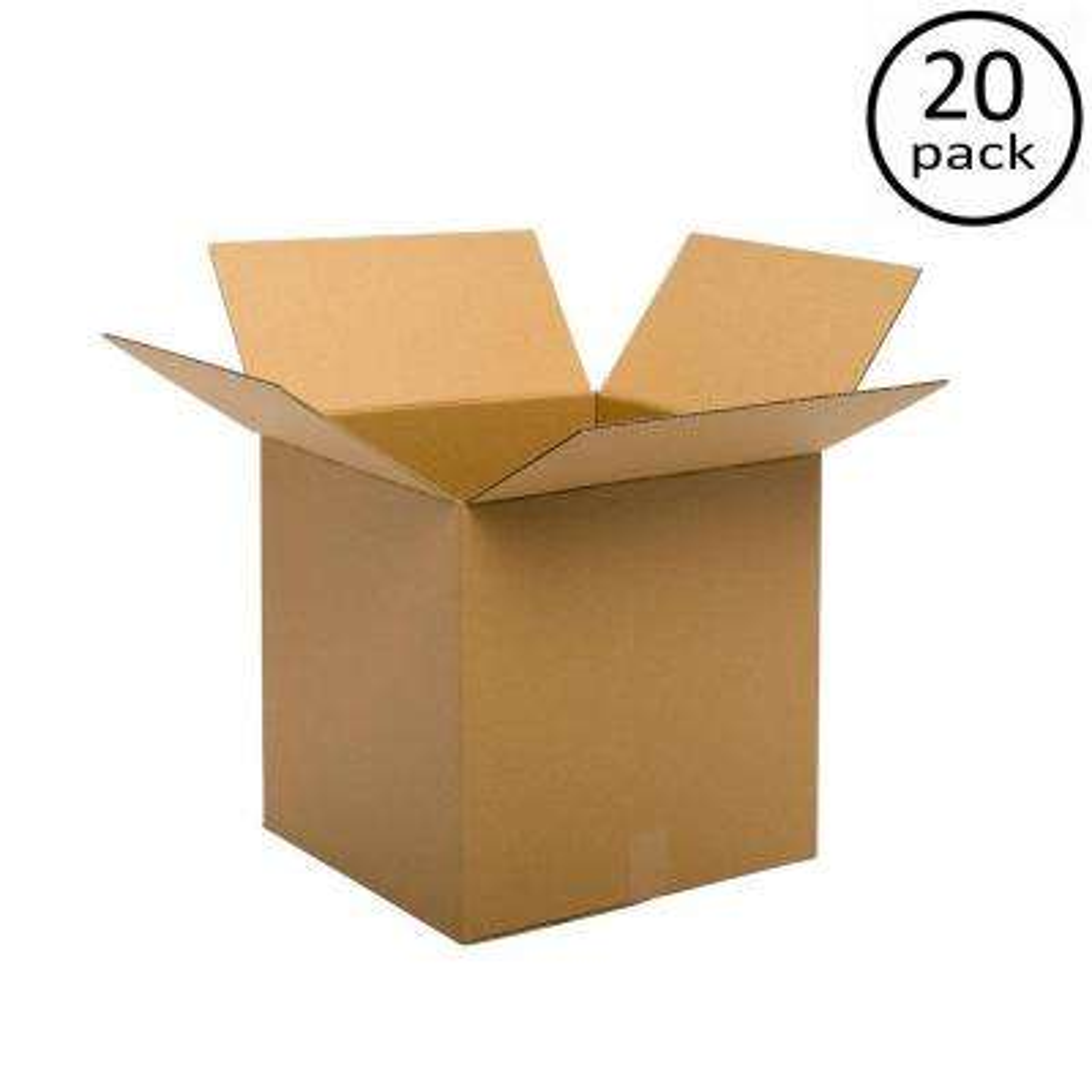 18 in. x 18 in. x 18 in. Multi-depth 20 Moving Box Bundle