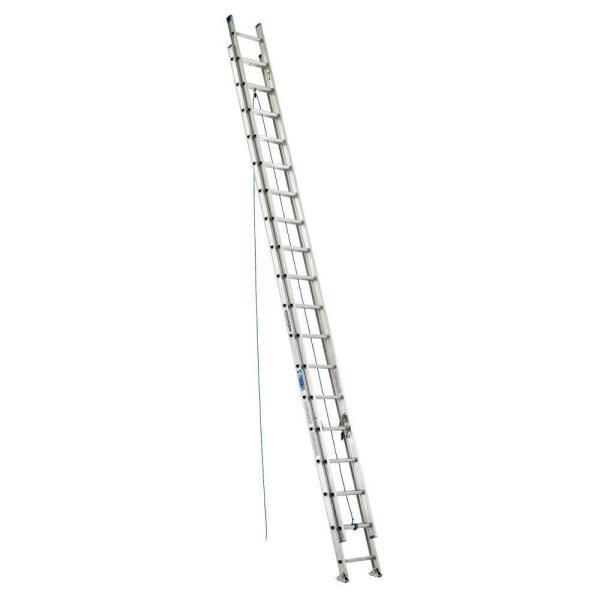 36 ft. Aluminum D-Rung Extension Ladder with 250 lb. Load Capacity Type I Duty Rating