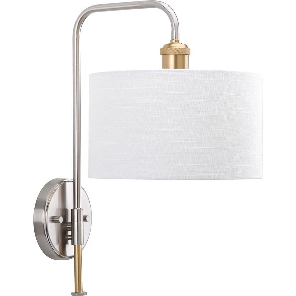 Cordin Collection 1-Light Brushed Nickel Sconce