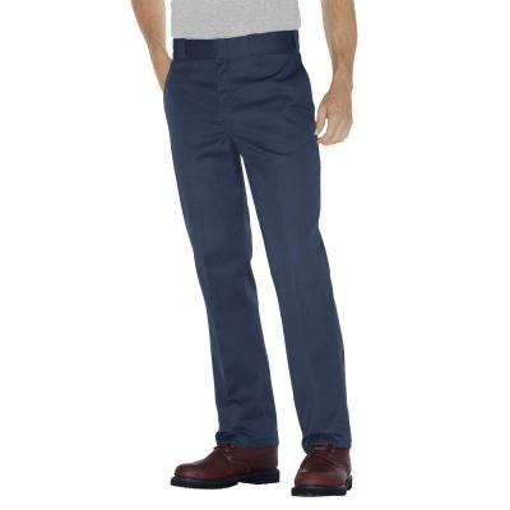 Original 874 Men's 38 in. x 30 in. Navy Work Pants