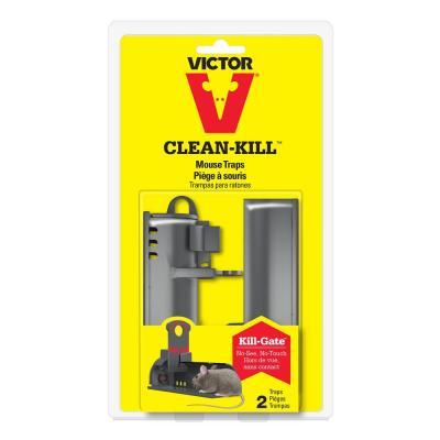 Clean-Kill Mouse Trap (2-Pack)