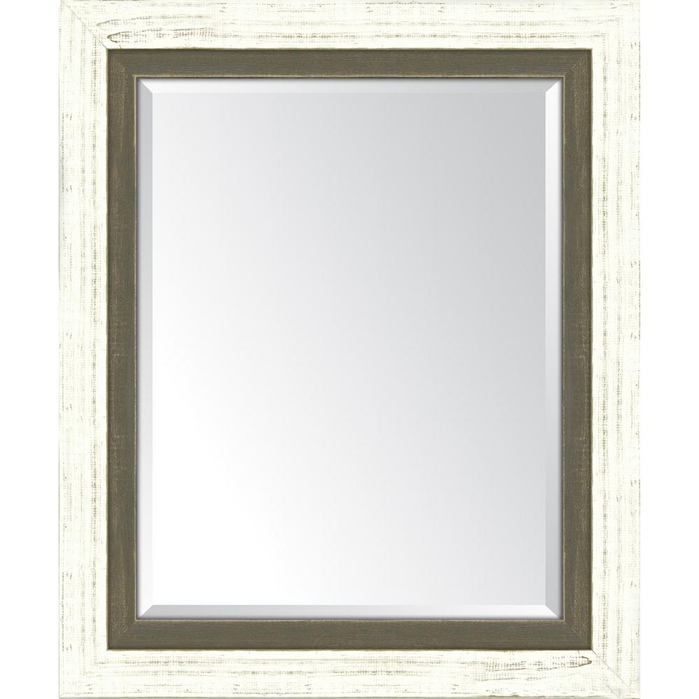 Melissa Van Hise 30 in. x 36 in. Framed French White Large and ...