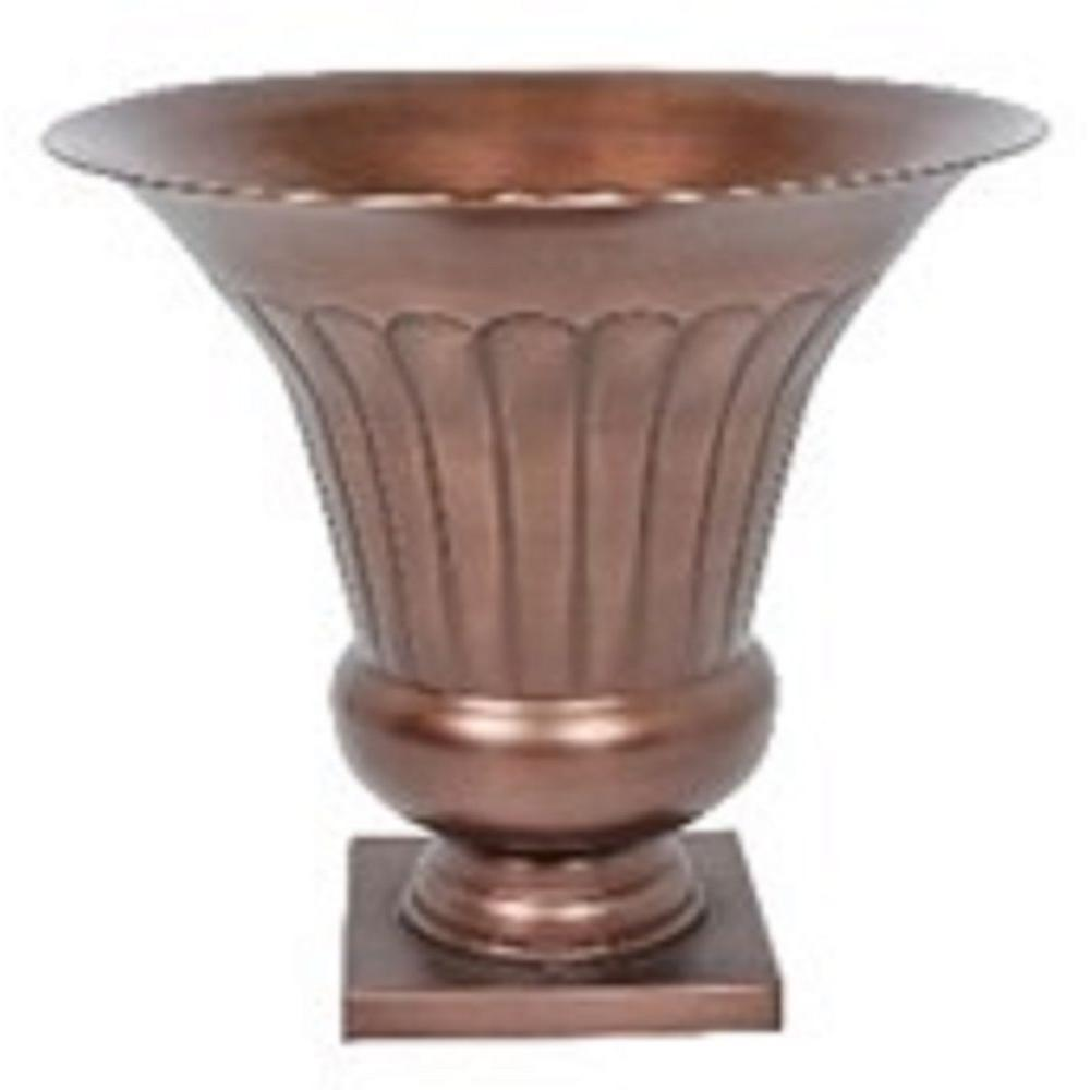 1725 in antique copper metal urn planter ds 24357 the home depot antique copper metal urn planter ds 24357 the home depot reviewsmspy