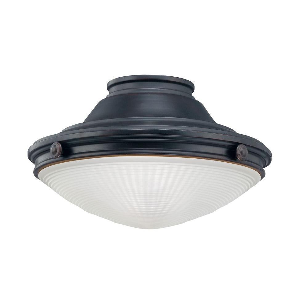 Illumine Satin 1-Light Ceiling Fan Light Kit