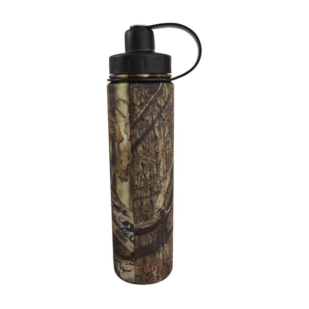 24 oz. Boulder Triple Insulated Bottle with Screw Cap - Mossy Oak (Matte)