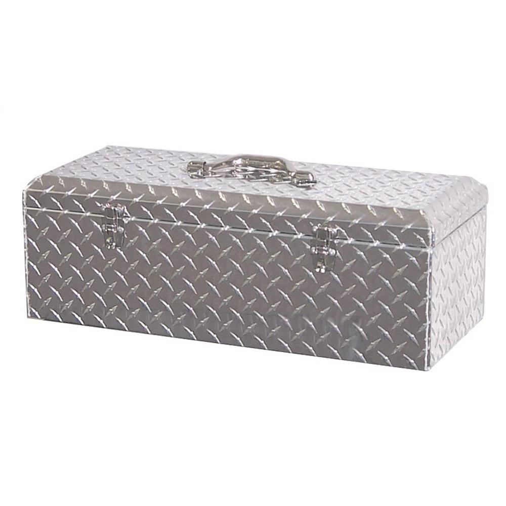 Lund 24.25 in Diamond Plate Aluminum Full Size Chest Truck Tool Box