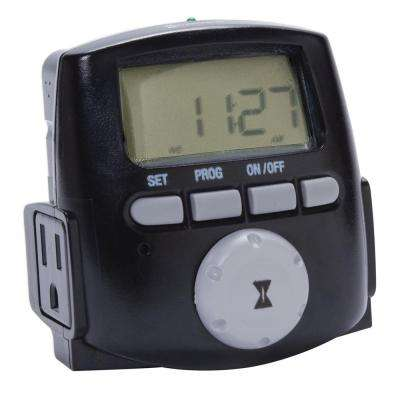 1200-Watt 7-Day Digital Astronomic Landscape Timer, Black