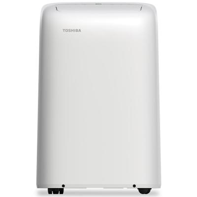 12,000 BTU (8,000 BTU, DOE) 115-Volt Portable Air Conditioner with Dehumidifier Function and Remote Control in White