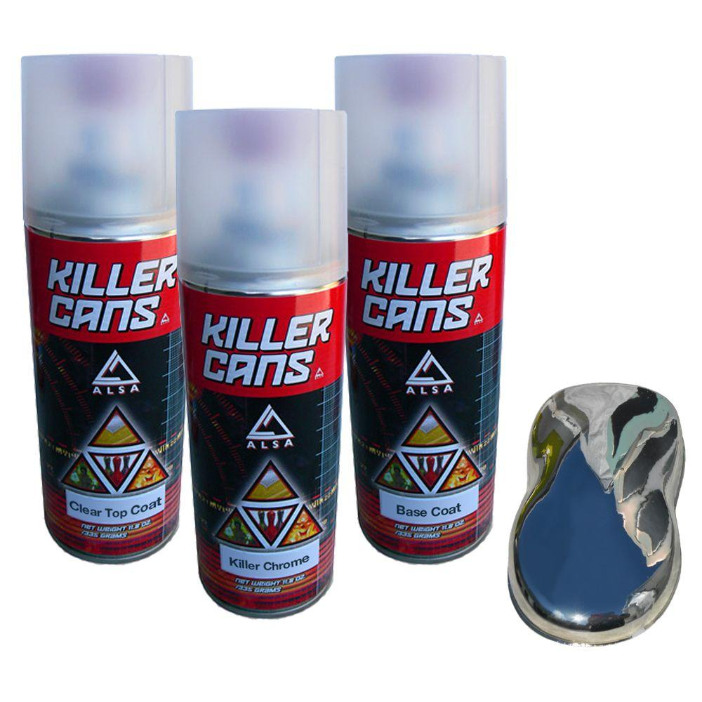 alsa refinish killer chrome kit kc kch kit the home depot. Black Bedroom Furniture Sets. Home Design Ideas