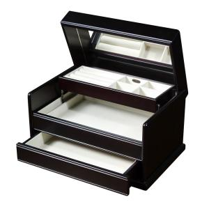 Mele Juliette Java Finish Wooden Jewelry Box00840S13 The Home Depot
