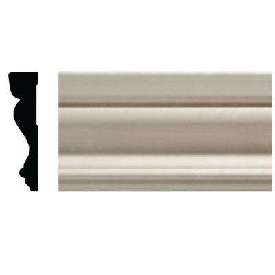 OML14A-7 5/8 in. x 2-1/2 in. x 84 in. White Hardwood Colonial Casing Moulding