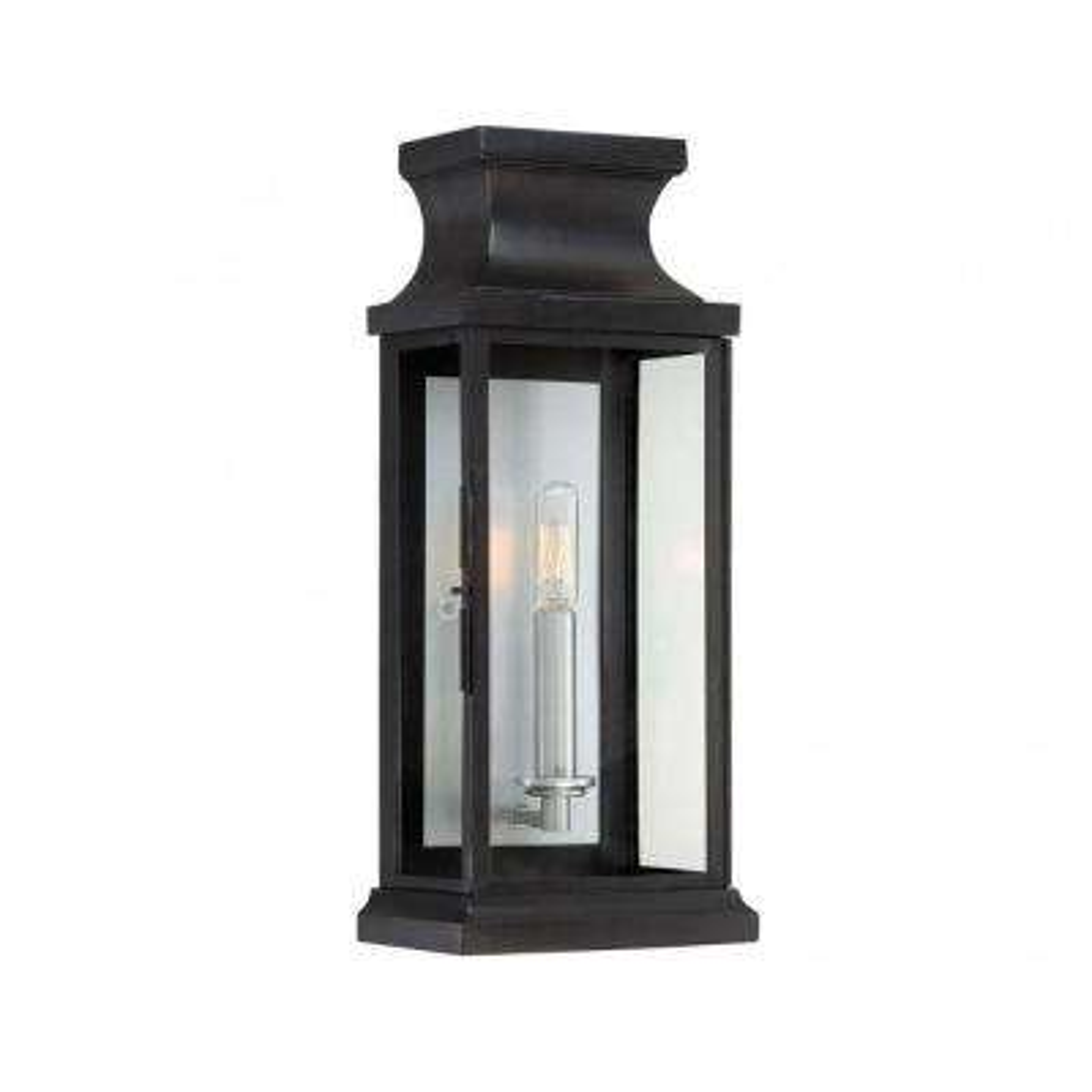 Appalacian 1-Light Black Outdoor Wall Mount Lantern