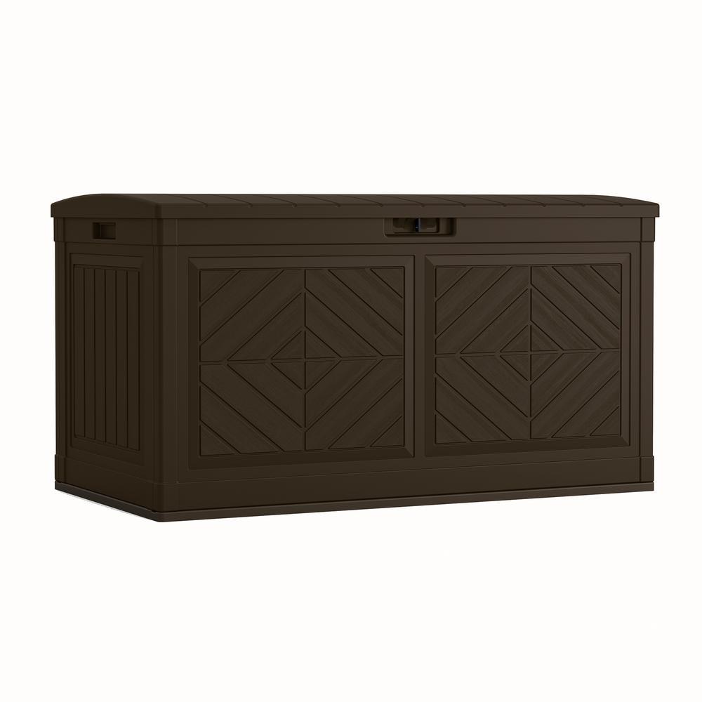 Brown Suncast BMDB80 Deck Box