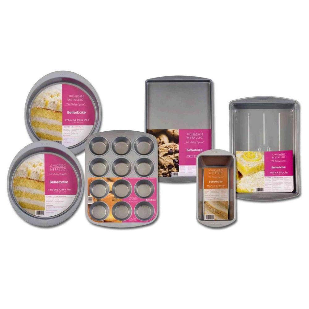 Focus Electric Betterbake 6 pc. Everyday Bakeware Set-DISCONTINUED