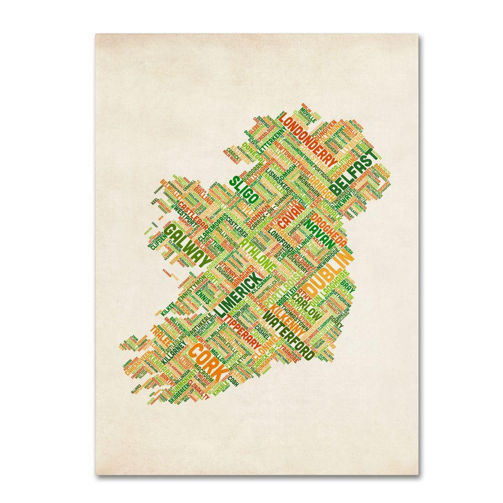 Trademark Fine Art 47 in. x 30 in. Ireland I Canvas Art