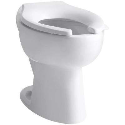 Highcrest Elongated Toilet Bowl Only in White
