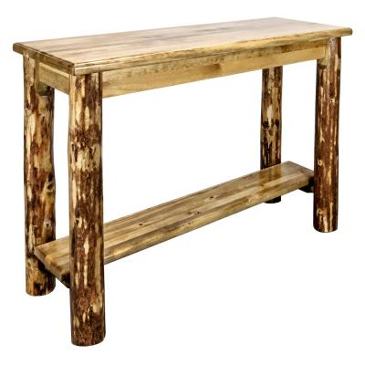 Solid Wood Entryway Tables Furniture The Home Depot - Solid Mahogany Wood Entry Wall Console Sofa Table