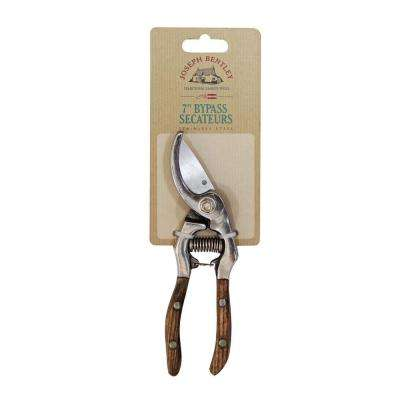 7 in. Stainless Steel Bypass Secateurs