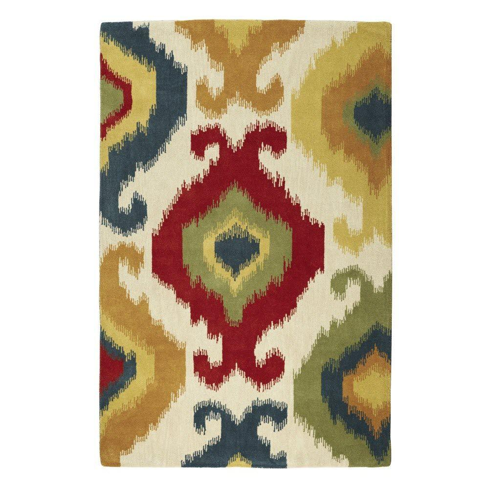 Home Decorators Collection Solstice Beige Multi 9 ft. 6 in. x 13 ft. 6 in. Area Rug
