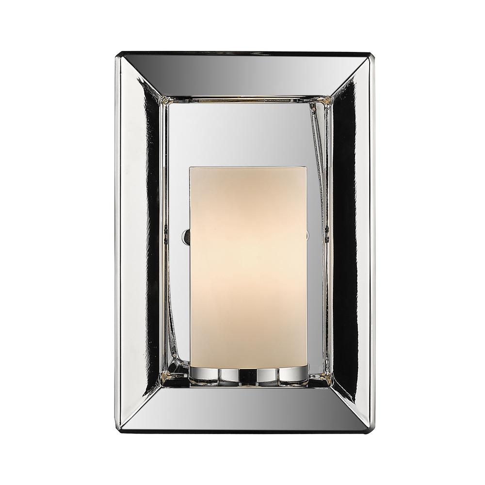 Smyth Chrome 1-Light Wall Sconce