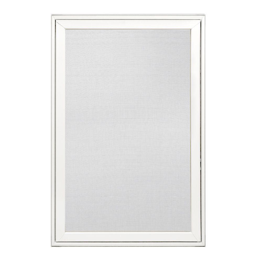 JELD-WEN 24.25 in. x 36.25 in. W-2500 Right-Hand Wood Screen Window - White