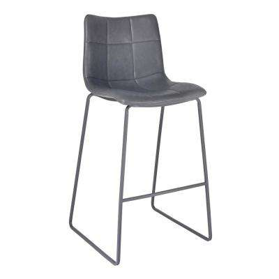 30 in. Hamilton Grey Bar Stool