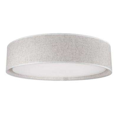 Berkley White 60-Watt Equivalence Integrated LED Ceiling Flush Mount