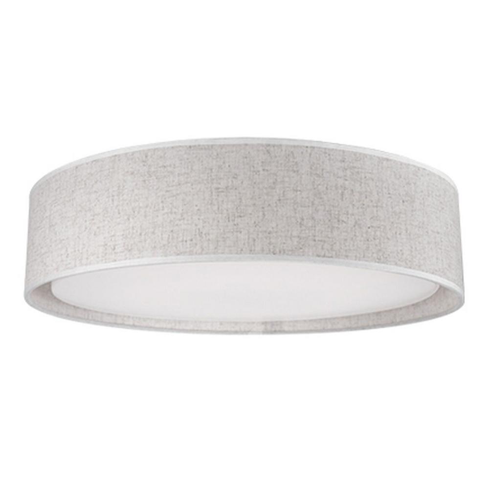 Berkley White 60-Watt Equivalence Integrated LED Ceiling Flushmount