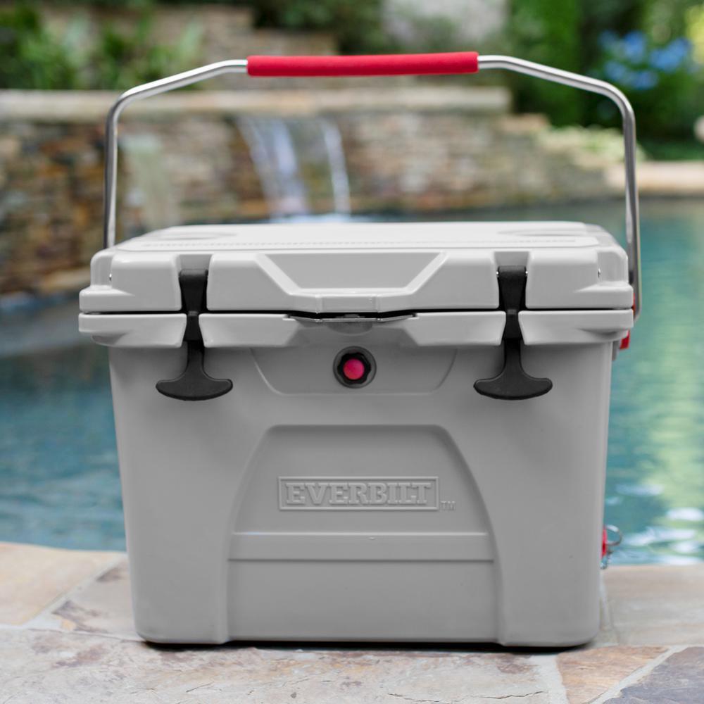 Everbilt 26 qt. High-Performance Cooler with Lockable Lid