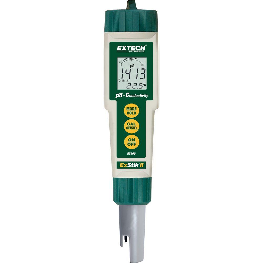 Extech Instruments Exstik Ii Ph Conductivity Meter Ec500 The Home Tds Ec With Temperature Dual Display Backlight Ez 2b