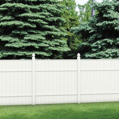 Veranda Installed White Vinyl Fence Hsinstifwhvf The