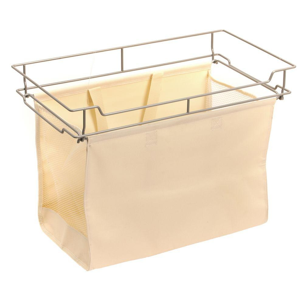 Martha Stewart Living Full Extension Hamper With 16 In. Removable Canvas Bag