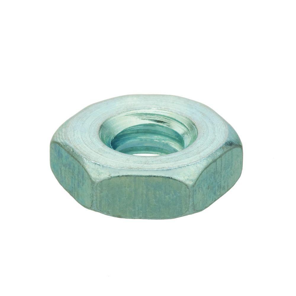 #8-32 tpi Zinc-Plated Machine Screw Nut (100-Piece)