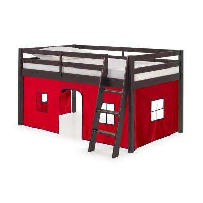 Roxy Espresso Junior Loft with Red and Blue Bottom Tent