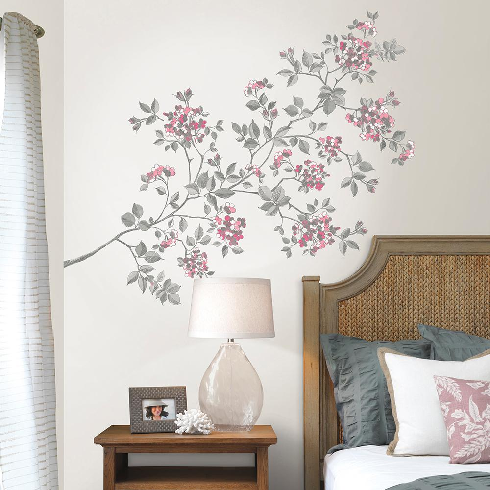 WallPOPs Pink Cherry Blossom Wall Decal