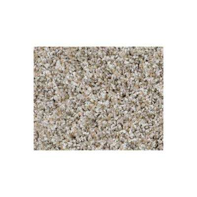 Wholehearted II - Color Raw Linen Twist 15 ft. Carpet