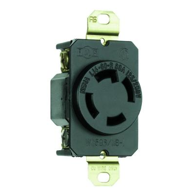 Pass & Seymour Turnlok 30 Amp 125/250-Volt NEMA L14-30R Locking Receptacle
